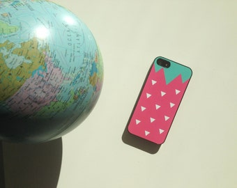 Iphone Case for Iphone 4/4S or Iphone 5/5S - Strawberry