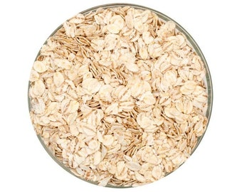 All Natural Raw FLAKED BARLEY Brewers Malted Grain For Home Beer Brewing 1 Pound