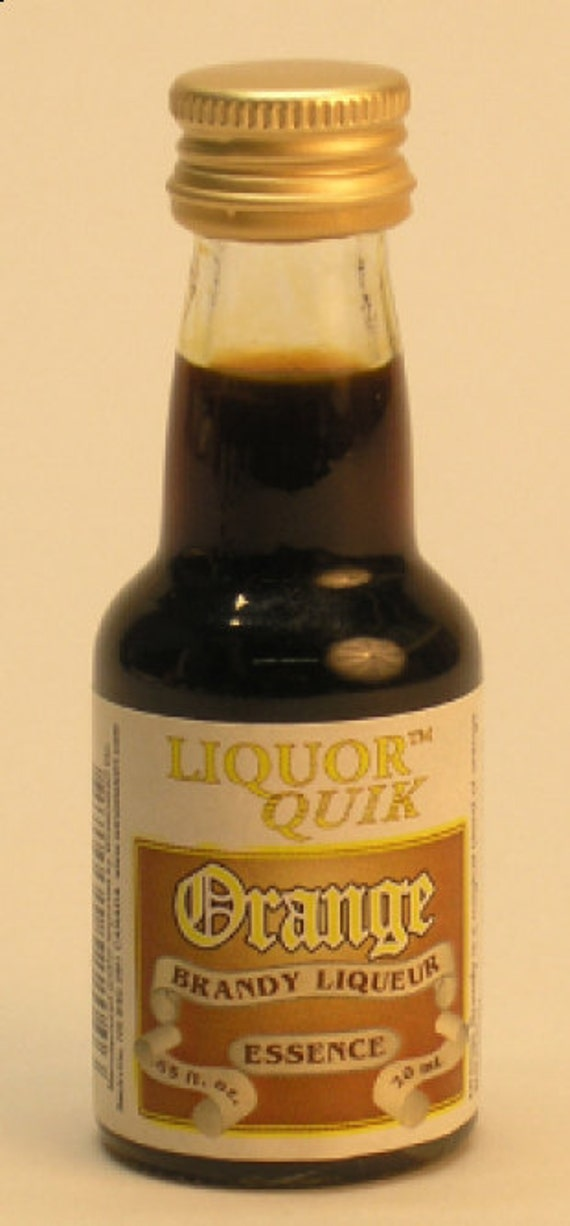Liquor Quik Orange Brandy Liquor Essence Home Distilling Flavoring 20 ml