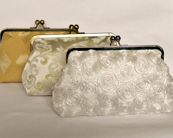 Brides Clutch Purse, Bridal Clutch Purse, Bridesmaid Clutch Purse, Wedding Clutch Purse, Evening Clutch Purse