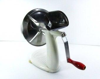 Shred o matic,rival, Kitchen appliance, slicer,shredder, mid century kitchen, vintage, grater,cheese slicer,enamelware