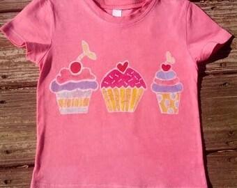 Cupcakes Batik Tee