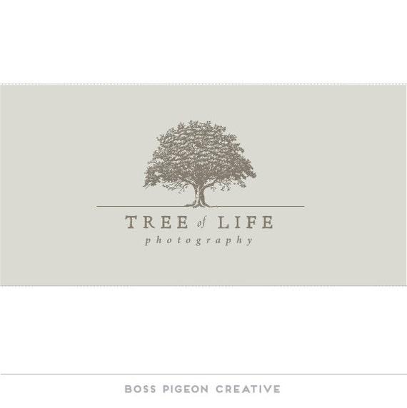 Pre made graphic design logo Tree of life