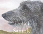 DEERHOUNDS at CASTLE STALKER limited edition fine art print