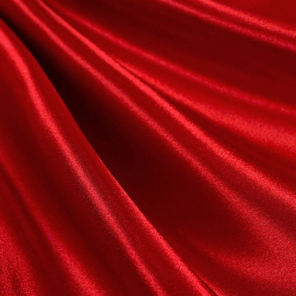 red satin and royal blue satin fabric 60 inches by fabricbravo