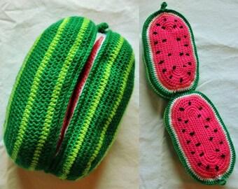 Amigurumi Watermelon : Popular items for watermelon crochet on Etsy