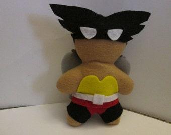 Justice League inspired Hawk girl plush