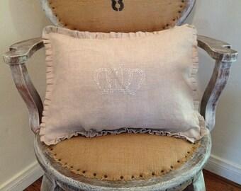 Linen Tiara pillow