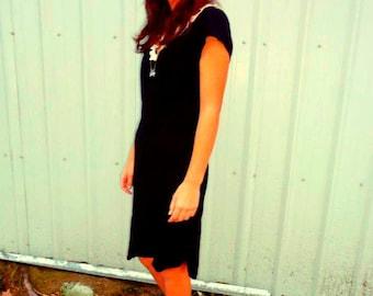 Vintage Black Goth/Grunge Dress