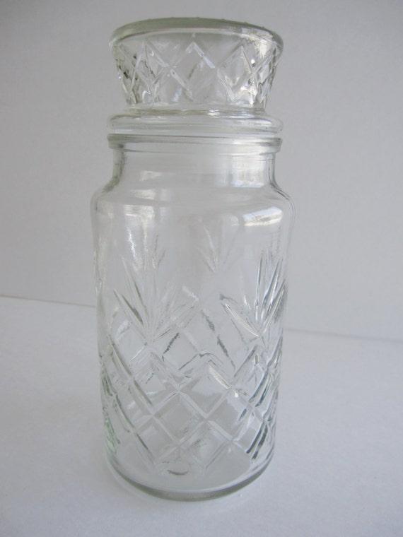 Items Similar To Vintage 1983 Planters Peanuts Glass Jar