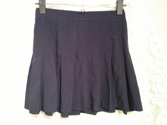 vtg high waisted pleated tennis skirt by