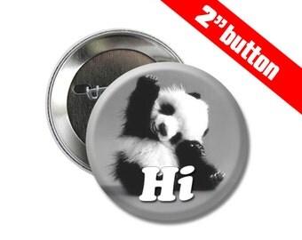 5 Panda 2 inch Button