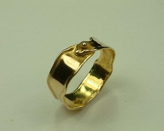 Handmade Gold 14k Ring