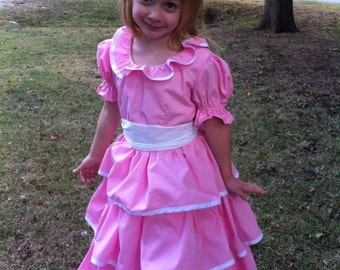 Handmade Girls Southern Belle Gown