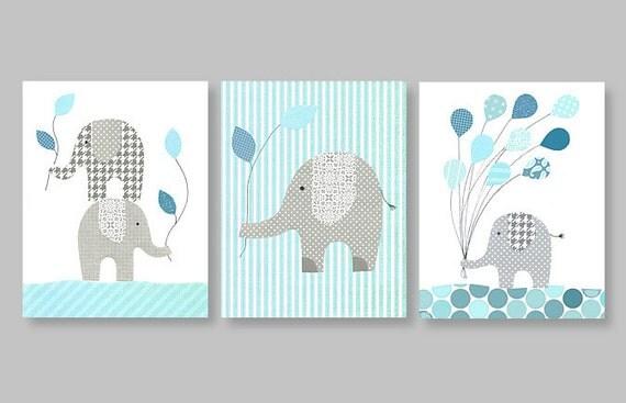 elephant baby nursery decor balloon children by