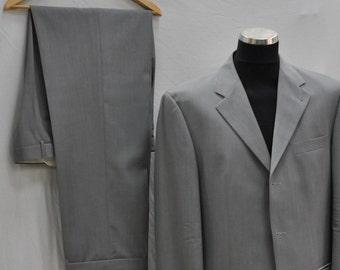 Vintage PIERRE CARDIN suit , mens suit ,