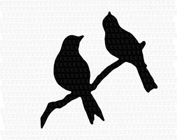 Astounding image in bird silhouette printable