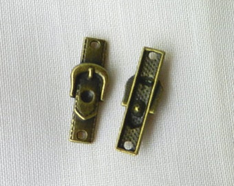 9 BELT BUCKLE Connectors, Jewelry Findings and Supplies