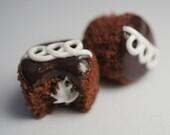 Chocolate Cupcake Tutorial, Polymer Clay Food Tutorial