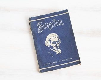Vintage German Opera program Joseph Haydn blue , ohtteam,