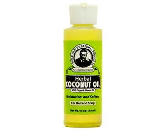 Uncle Harry's Coconut Oil for Hair  4 oz (Dry Hair)