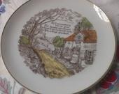 lovely vintage decorative plate-SALE-
