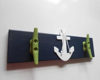 Wall Rack - Boat Cleat Hook  - Nautical Nursery - Boat Cleats - Boat Cleat - Nursery Decor - Lake House Decor - Anchor Decor - Wall Hooks