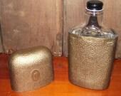 IW Harper Flask Vintage 1950s