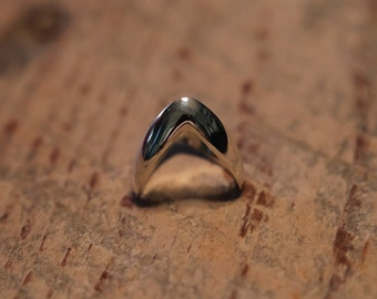 Sterling Silver Wishbone Ring