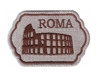 Rome Italy (A) Embroidered Sew On Patch