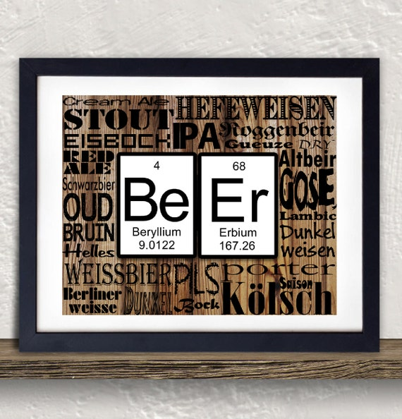 The best alternative geeky posters blue pigeons periodic table words urtaz Image collections