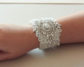 Wedding Statement Bracelet Keela ( Made to order)