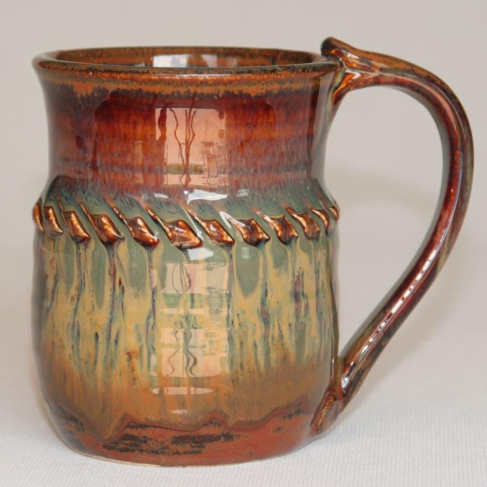 Stoneware Mug Handmade Pottery