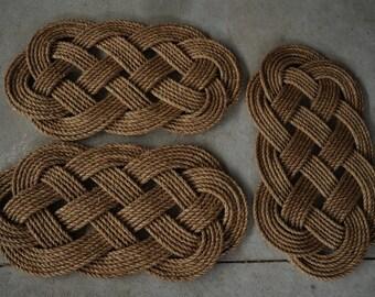 3 Nautical Rope Rugs