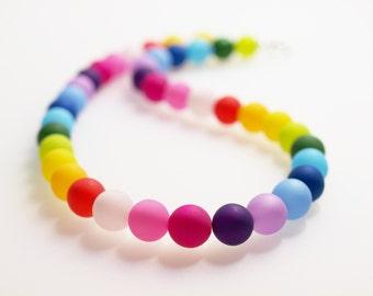 rainbow necklace polaris