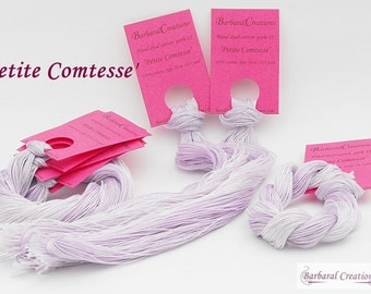 Hand dyed cotton perlé 12 - 'Petite Comtesse'