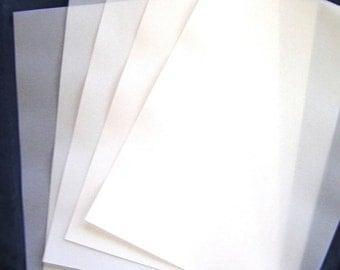 92gsm VELLUM  A4 (20) 297x210mm Translucent Paper Scrapbooking Weddings  Invitations