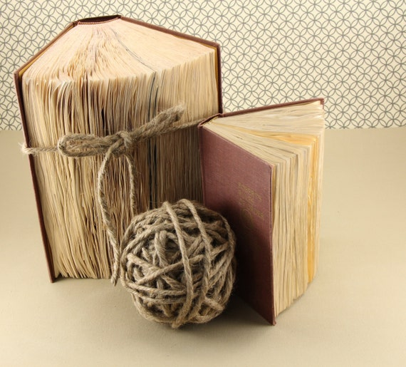 Items Similar To Vintage Tattered Books For Home