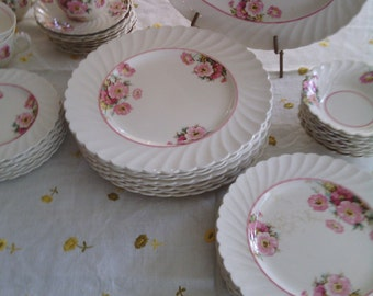 100+ yrs. Royal Staffordshire English Rose Platter Price Reduction