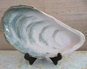 Wonderful Mussel Shell Serving Platter