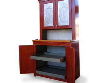 Reproduction Bakers Cabinet
