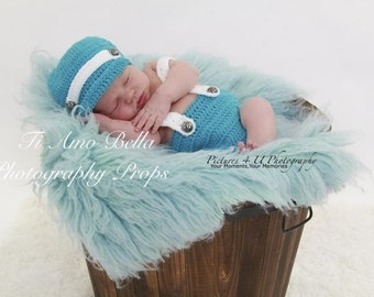 Diaper cover and suspenders with cap