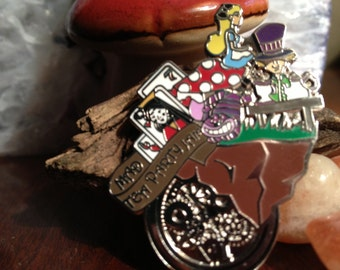 Alice in Wonderland's: Mad Tea Party Jam Pin