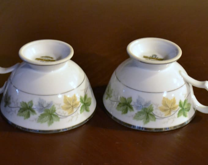 Vintage Harmony House Teacup Set of 2 Sherwood Japan Replacement Bridal Baby Shower PanchosPorch