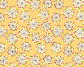 Yellow Burst- Blooms and Bursts by E-Studio 1yd