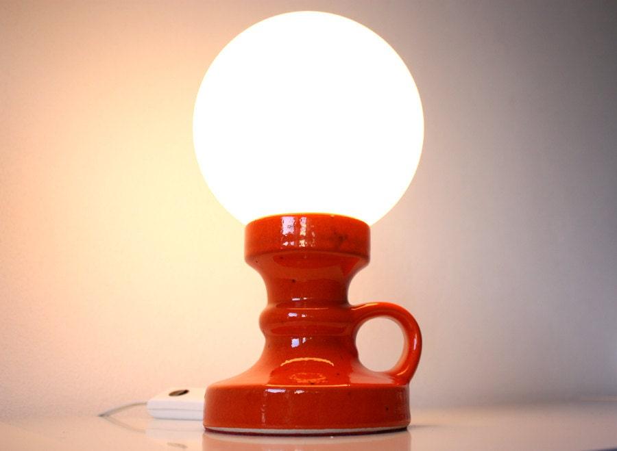 Kugellampe kugelleuchte keramik tischleuchte tischlampe for Keramik tischleuchte