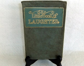 Vintage Poetry Book ,The Little Book of Laughter