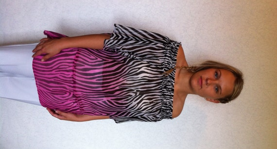 Zebra Blouse 64