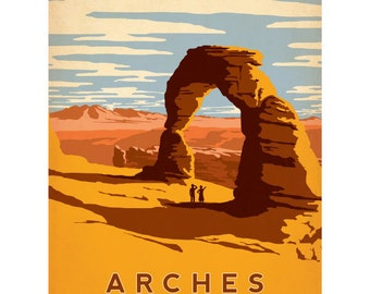 Arches National Park Utah Wall Decal #42273