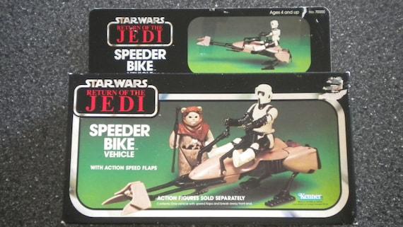 Star wars vintage kenner speeder bike never opened for Home decor kenner
